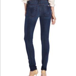 HUDSON Gia Mid Rise Skinny Jean - Size 26